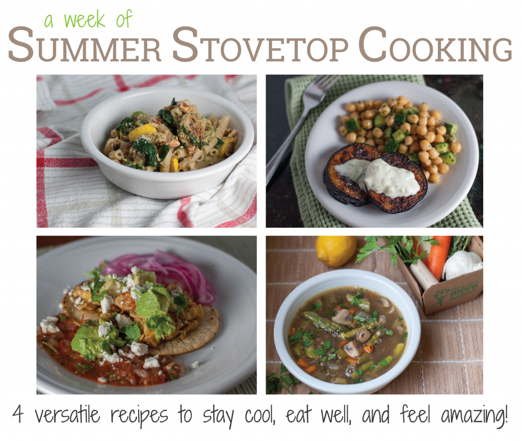 Summer Stovetop Cooking eBook