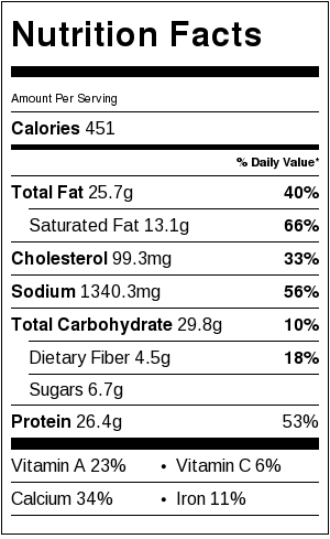 nutrition-info-creamy-chicken-enchiladas