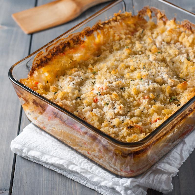 Golden Root Vegetable Gratin - Natural Comfort Kitchen