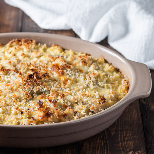 (Nothing But) Onion Gratin - Natural Comfort Kitchen