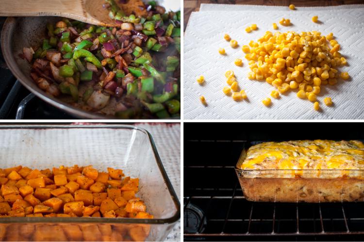 Easy, gluten-free Southwest egg bake