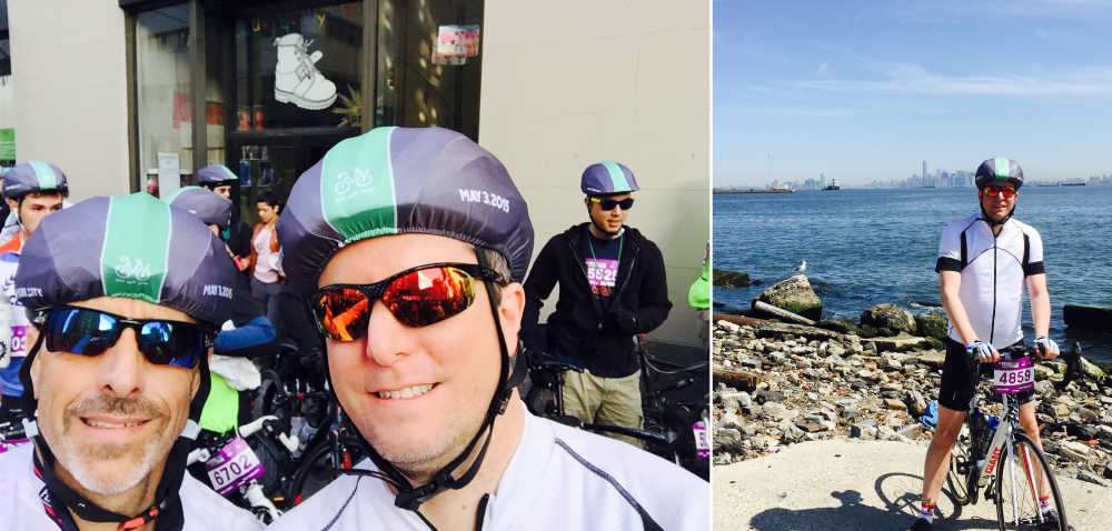 NYC 5 Borough Bike Tour 2015