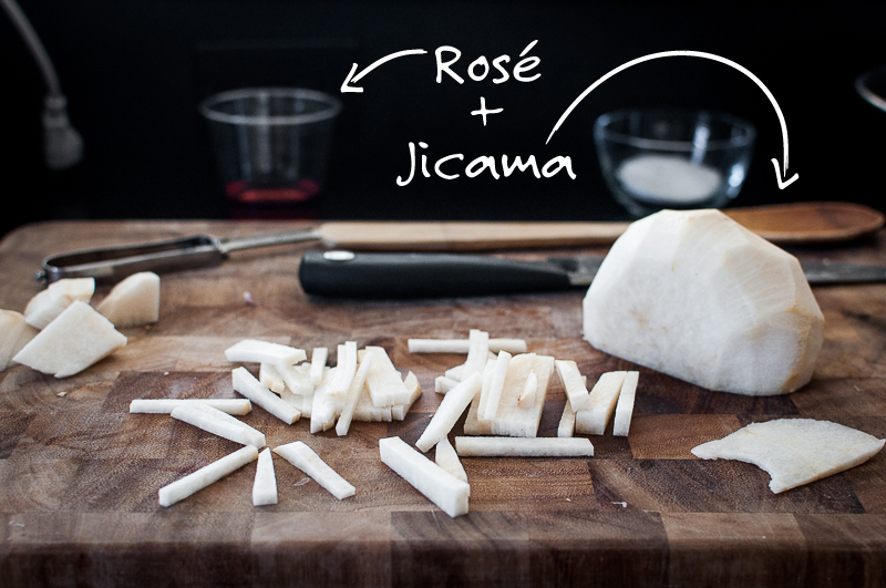 How to julienne jicama