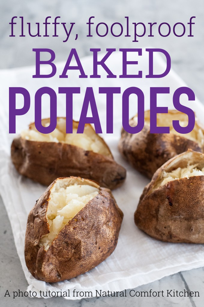 Perfect baked potatoes CAN be foolproof! It doesn't take anything revolutionary, just a few simple tips and tricks.