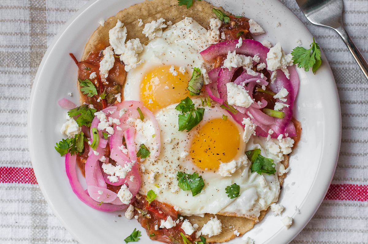 Weeknight Huevos Rancheros