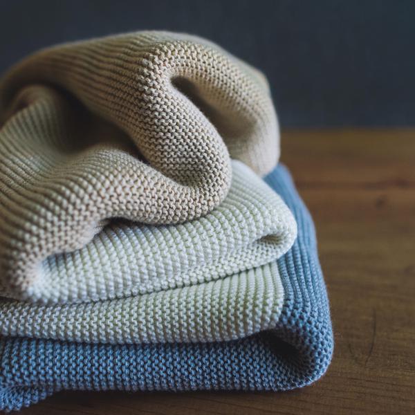 Koko's Nest blanket in my birth bag